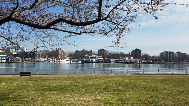 Marina View from Hains Point - 03182017