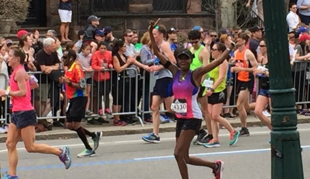 2017 Boston Marathon - Mile 25.7