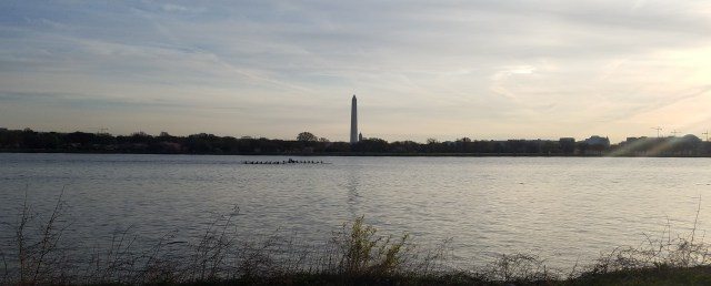 Rowers on the Potomac at Dawn - 04032017