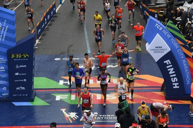 2017 New York City Marathon - Finish Line