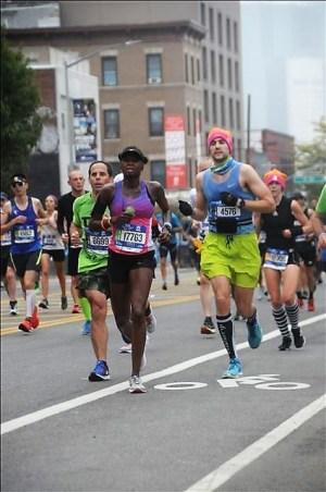 2017 New York City Marathon - Mile 13