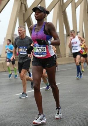 2017 New York City Marathon - Mile 19