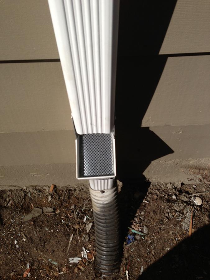 Downspout Cleanouts Jts West Coast Gutter