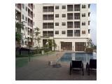 Dijual Apartemen Studio di Serpong Green View, ada 2 unit dempet