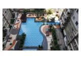 Dijual cepat Apartemen Sudirman Park Tower B, luas 48 m2, 2 BR furnished, View Pool