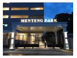Dijual Apartemen Menteng Park Harga Termurah – Studio Fully Furnished