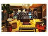 Dijual Residence 8, size 178m2,  2BR+ 1. View Sudirman + Swimming pool  Harga Bottom GEBYAR MERDEKA IDR 7.5 M.