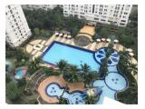 Jual Apartemen Kalibata City Green Palace - Tower Palem - Lantai Tinggi View Pool - 2BR Full Furnished ukuran 37 m2 HOOK
