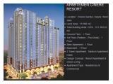 Jual Apartemen Cinere Resort Depok - Studio 21,89m2 Unfurnished