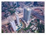 Izzara Located between  JORR 2 Toll Road, Depok-Antasari  Toll Road and Jl. Antasari. Very Strategic Location!