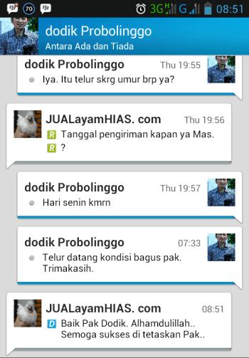 Testimonial Bapak Dodik Probolinggo