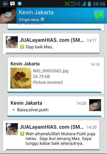 Testimonial Bapak Kevin Jakarta