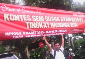 Kontes ayam ketawa di PASTY Yogyakarta