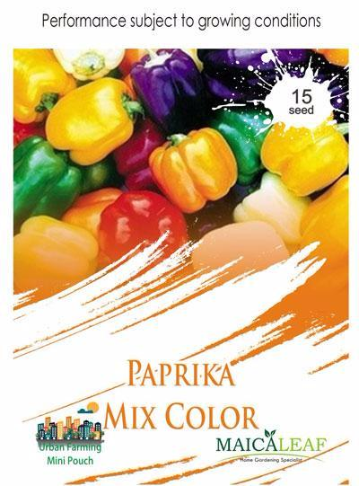 Benih Parika Mix Color Maica Leaf