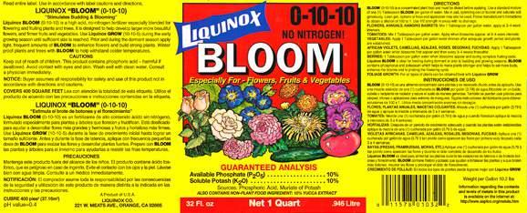 Liquinox Bloom