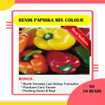 Benih Paprika Mix Color (Maica Leaf)
