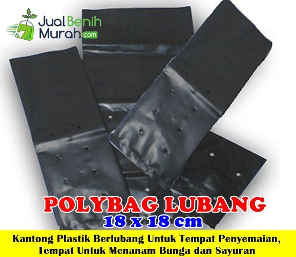 Polybag Lubang 18x18cm