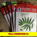 Benih Okra Greennie F1 (Known-You Seed)