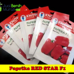 Benih Paprika Merah Red Star (Known You Seed)
