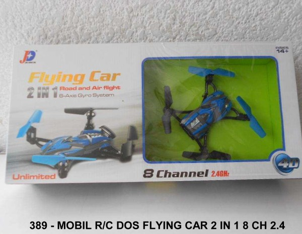 Mobil RC Dos Flying Car 2In1 24GHz
