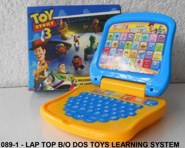 089-1 - LAP TOP BO DOS TOYS LEARNING SYSTEM