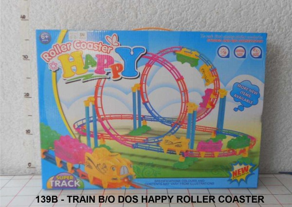 GROSIR MAINAN TRAIN HAPPY ROLLER COASTER