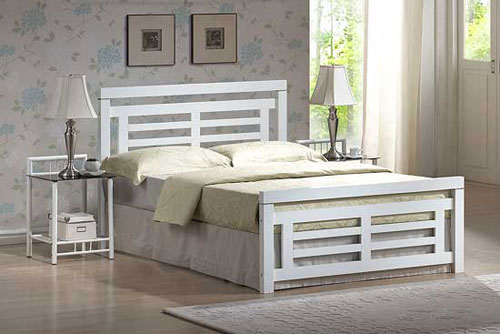Tempat Tidur Minimalis Pagar