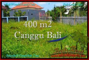 TANAH di CANGGU BALI DIJUAL 400 m2  Lingkungan villa