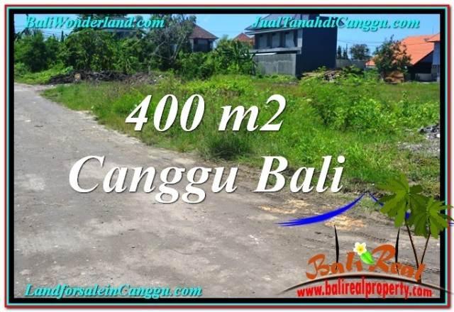 TANAH DIJUAL MURAH di CANGGU BALI 400 m2 di Canggu Brawa