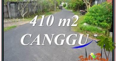 DIJUAL TANAH MURAH di CANGGU BALI 410 m2 di Canggu Pererenan