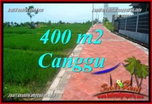 INVESTASI PROPERTI, TANAH DIJUAL di CANGGU BALI TJCG219