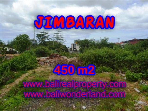 Tanah dijual di Bali 450 m2 Lingkungan Elite di Jimbaran Ungasan