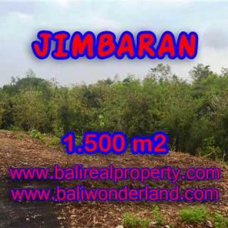 TANAH MURAH DI JIMBARAN BALI TJJI076 - INVESTASI PROPERTY DI BALI