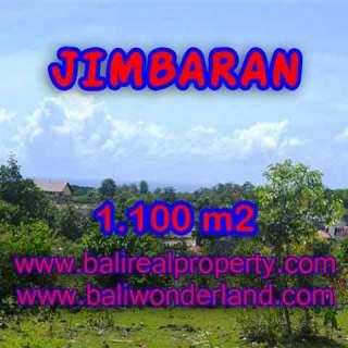 JUAL TANAH di JIMBARAN BALI 1,100 m2 Lingkungan villa
