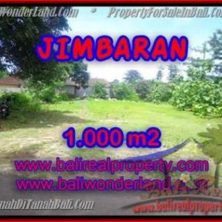 JUAL TANAH MURAH di JIMBARAN BALI 1,000 m2 di Jimbaran four seasons