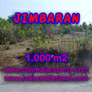 TANAH di JIMBARAN BALI DIJUAL MURAH Untuk INVESTASI TJJI074