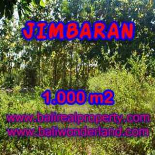 TANAH MURAH JUAL di JIMBARAN BALI 1,000 m2 Lingkungan Perumahan