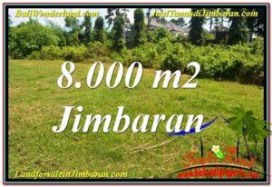 TANAH DIJUAL MURAH di JIMBARAN BALI 8,000 m2 di Jimbaran Ungasan