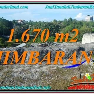 JUAL MURAH TANAH di JIMBARAN BALI 1,670 m2 Lingkungan Villa