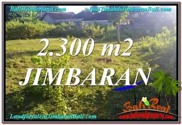 JUAL MURAH TANAH di JIMBARAN BALI 2,300 m2 di Jimbaran Ungasan