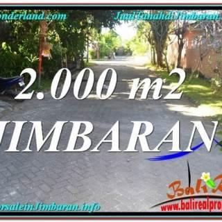 JUAL TANAH di JIMBARAN Untuk INVESTASI TJJI115