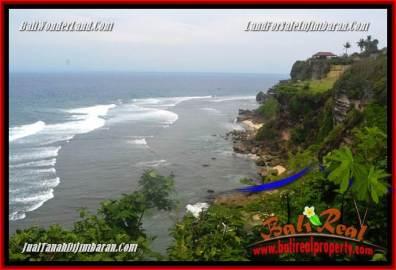 JUAL MURAH TANAH di JIMBARAN BALI 7,500 m2 Tebing tepi Pantai