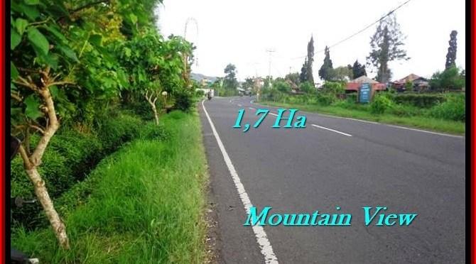 JUAL TANAH MURAH di TABANAN BALI 170 Are view Gunung