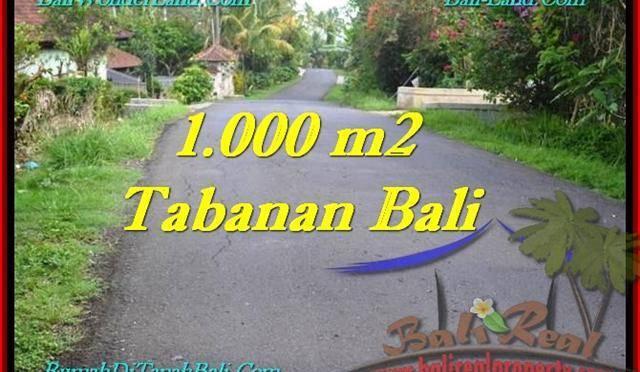 INVESTASI PROPERTY, TANAH MURAH di TABANAN BALI TJTB243