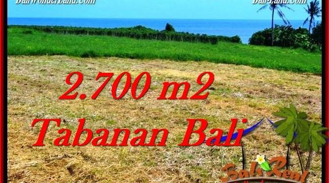TANAH MURAH DIJUAL di TABANAN BALI 27 Are di Tabanan Selemadeg