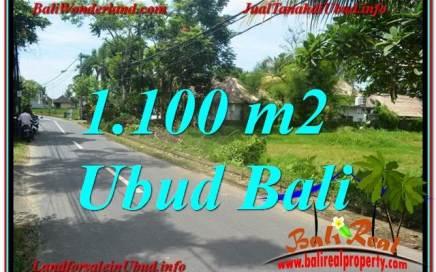 DIJUAL MURAH TANAH di UBUD BALI 11 Are di Sentral / Ubud Center