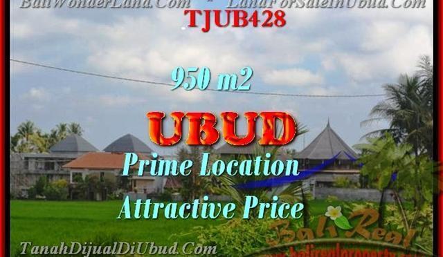 DIJUAL TANAH MURAH di UBUD BALI TJUB428