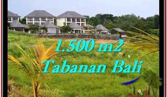 JUAL TANAH di TABANAN BALI 15 Are View sawah, laut dan gunung
