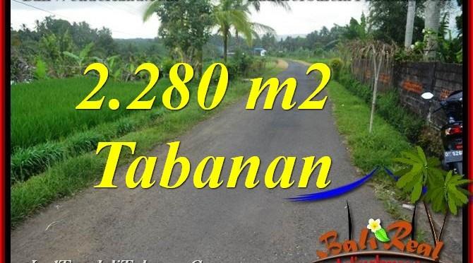 TANAH MURAH di TABANAN JUAL 22.8 Are View Laut, Gunung dan sawah