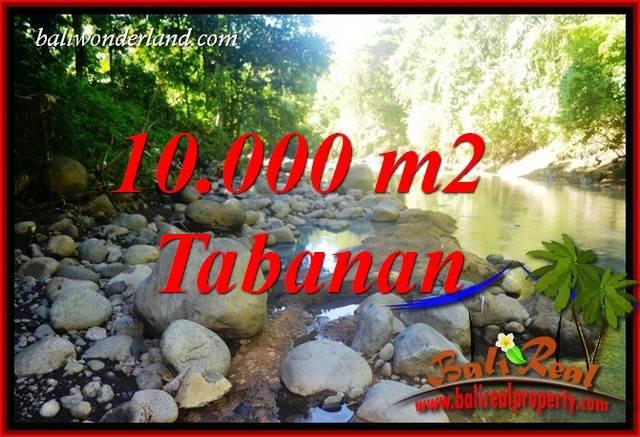 Tanah Murah dijual di Tabanan Bali 10,000 m2 View Sawah dan Sungai